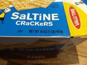 Fool's toffee - saltine cracker box (AsimpleHomestead)