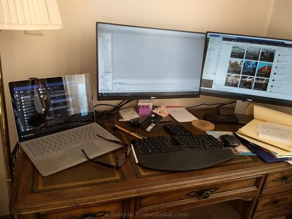 Work from home setup